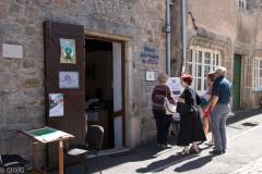 Festival des arts à Cervières (42) aout 2018. Peinture, photo, sculpture, écriture, musique...